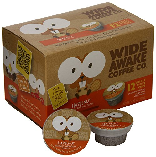Wide Awake Coffee Hazelnut Cream Single serve cup - Pack of 3