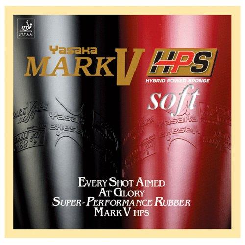 Yasaka Mark V HPS Soft (Yasaka Table Tennis Rubber)