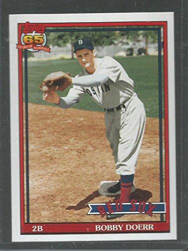 Baseball MLB 2016 Topps Archives #251 Bobby Doerr 1991 Design NM-MT Red Sox