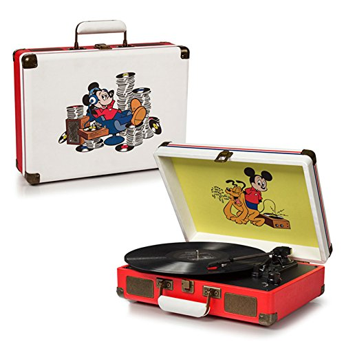 Vintage Mouse - Crosley CR8005A-DS Cruiser Portable 3-Speed Turntable, Disney