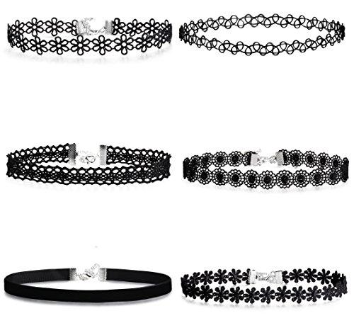 Jstyle Choker Necklaces Vintage Adjustable