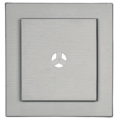 Builders Edge 130110022030 Fiber Cement Square Ring Mount Block 030, (Square Mounting Block)