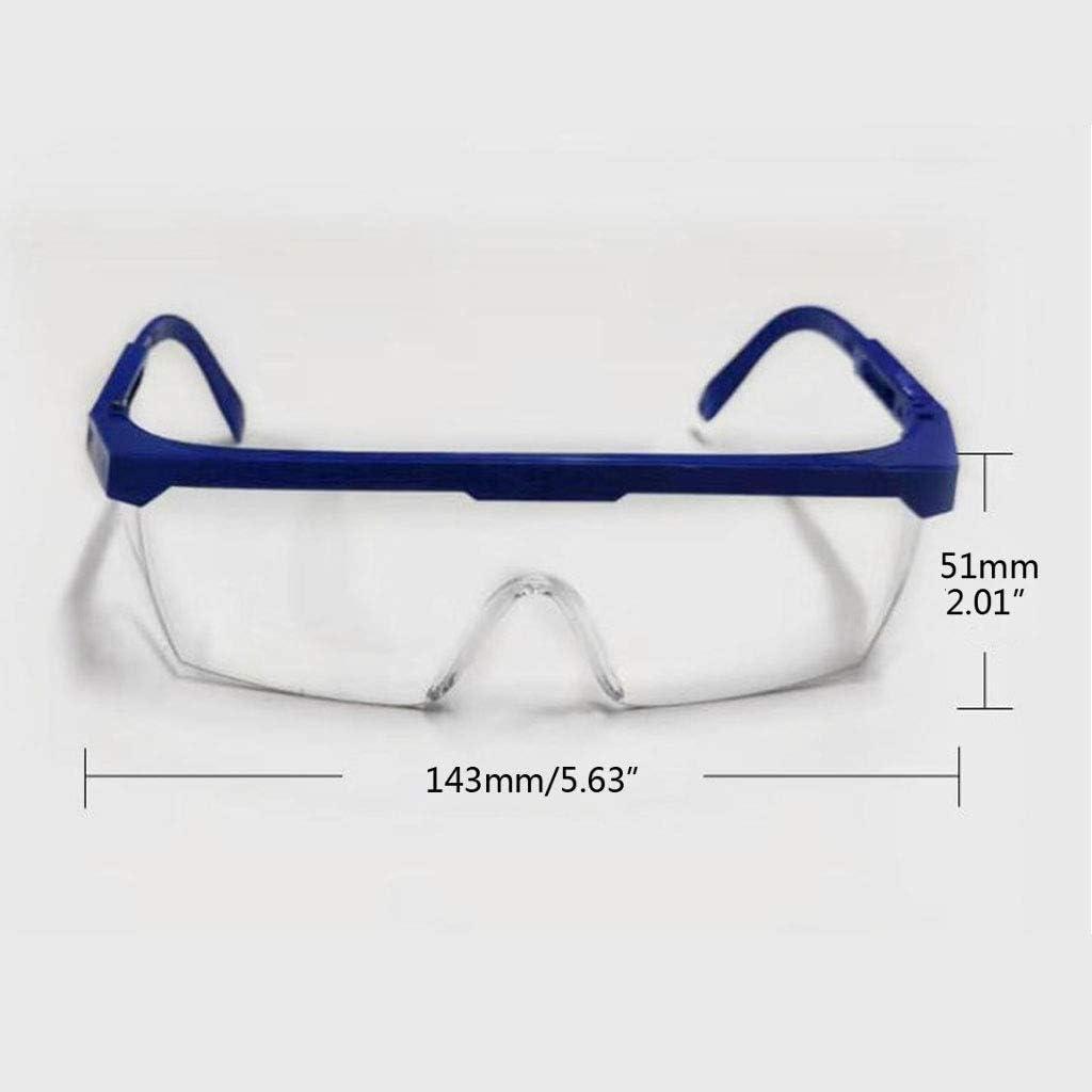 NoBrand Lunettes De S/écurit/é De Travail Lunettes Anti-poussi/ère Anti-bu/ée Lunettes De Protection Oculaire