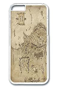 iPhone 6 plus Case, 6 plus Case - Ultra Slim Clear Hard Back Case for iPhone 6 plus Middle Earth Map The Lord Of The Rings Perfect Fit Crystal Clear Back Case for iPhone 6 plus 5.5 InchesMaris's Diary