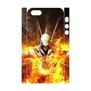 Iphone 5,5S 3D DIY Phone Back Case with Assassins Creed Image