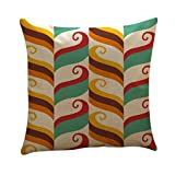 Sinzelimin Boho Cushion Cover Geometry Throw