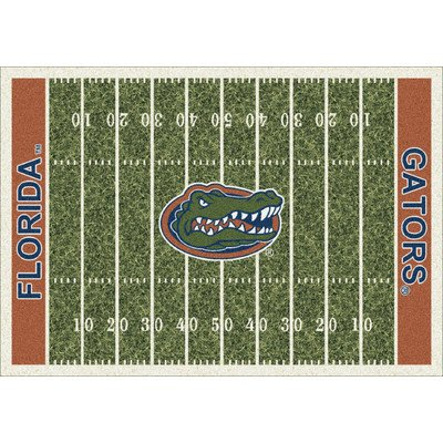 - Milliken 4000018600 Florida College Home Field Area Rug, 5'4