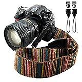 Camera Strap Eorefo Bohemia Shoulder Neck Strap for All DSLR Camera