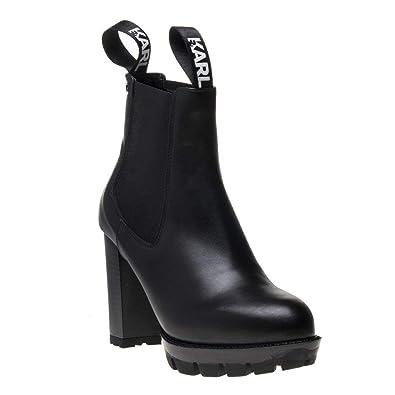 ad560ce2a Karl Lagerfeld Voyage Femme Boots Noir: Amazon.fr: Chaussures et Sacs