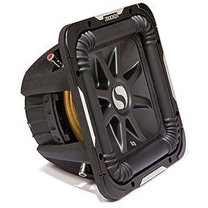 """Kicker S12L7 Car Audio Solobaric L7 Square 12"""" Sub Dual 4 Ohm 1500W 11S12L74 Subwoofer L7S12"""