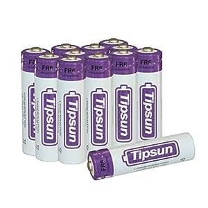 Amazon.com: Tipsun 12 Pack AA Lithium Batteries, 1.5V