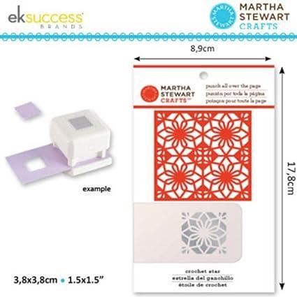 Amazon.com: Martha Stewart Crafts Crochet Star Pattern Punch All ...