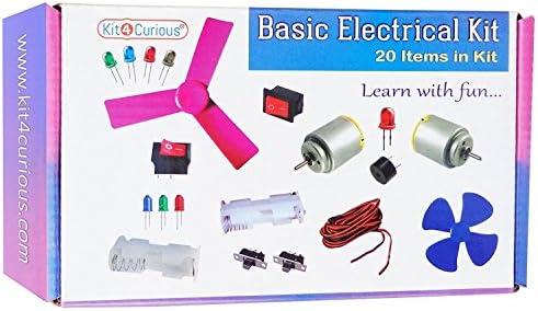 Amazon com : StonKraft STEM Basic Electrical Experiment Kit