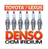 Thxbyebye 6pcs Spark Plugs for LEXUS Toyota