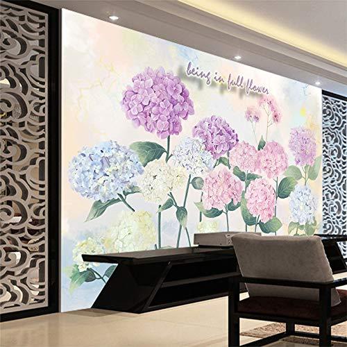 Papel pintado 3D visualización Fresco Tv fondo papel pintado sin costuras grandes murales recámara acogedor Tv fondo 3d...