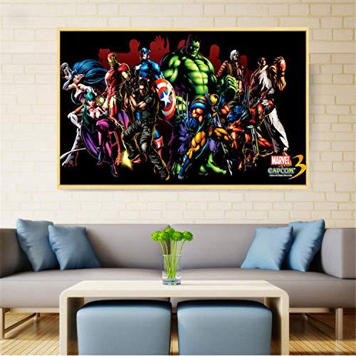 taoyuemaoyi Superhéroes Marvel Character DC Comics Pop Art ...