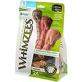 Whimzees Natural Grain Free Dental Dog Treats, Small Brushzees, Bag Of 24