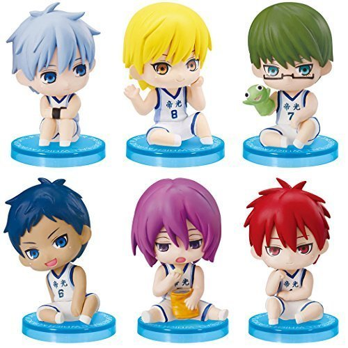 Kuroko's Basketball Suwarasetai EX, which are the most iconic items in Kuroko's Basketball Series by Gashapon