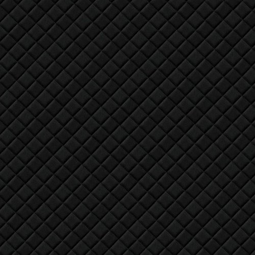 WallFace 15029 ROMBO Wall panel self-adhesive Leather design plaid Luxury wallcovering wallplate black | 2,6 sqm by Wallface (Image #4)'