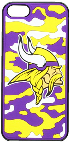 Forever Collectibles Minnesota Vikings Camouflage Hard Snap-On Apple iPhone 5 & 5S Case