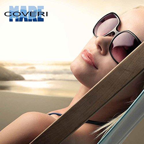 55x22x45cm Rose Bianco O Marinaio Shopper Manici Mare E Coveri Karl Stile Con Stampa amp; Spiaggia Enrico Lucido Blu Effetto Borsa Bakaji P0RqBB