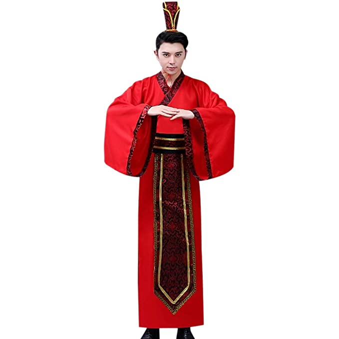 Amazon.com: KINDOYO Ancient Traditional Costume - Adult ...