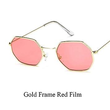 mejor sitio web 7fb1f ce7eb WZYMNTYJ Polígono Gafas de Sol Transparentes Estilo de Calle ...