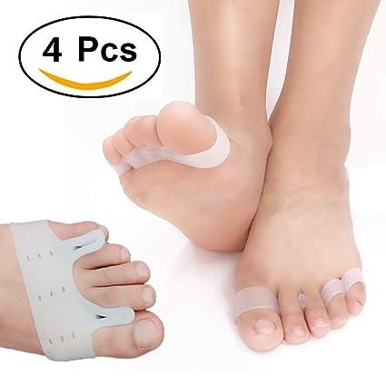 Separadores de dedos de pie, alisador de dedos, alivio de juanetes, espaciador de