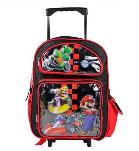 Large Super Mario Roller Backpack