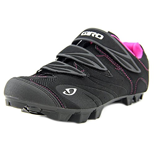 Giro Gf23140 Womens Reila Dirt Bike Scarpe Nero / Rodamina Rosso