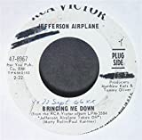 bringing me down / let me in 45 rpm single