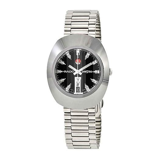 Rado The Original R12408623 - Reloj automático para Hombre, Esfera Negra: Amazon.es: Relojes