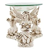 Something Different Fairy Oil Burner (5.9 x 4.7 x 4.7 in) (Multicoloured)
