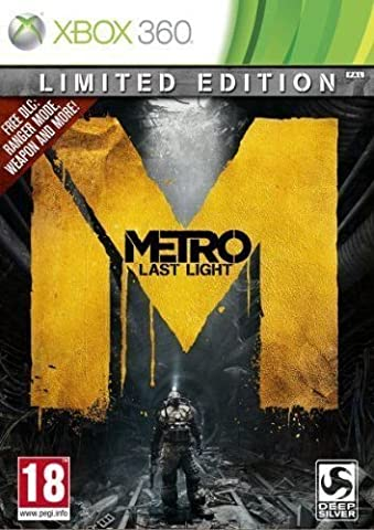 Metro Last Light - Limited Edition (Xbox 360) UK IMPORT REGION FREE (Max Payne 3 Special)