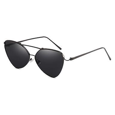 e5d57403911073 Juleya Cat Eye lunettes de soleil femmes hommes miroir lunettes de soleil  Vintage Rose Gold Eyewear