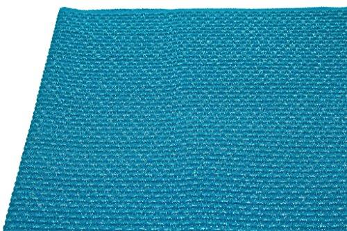 帯揚げ 青 ブルー ラメ糸 正絹 丹後ちりめん ふくれ織