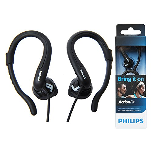 Philips ActionFit SHQ1250TBK/27 Sweat Resistant In-Ear Black