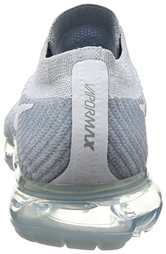 NIKE Air Trail Zapatillas White wolf Platinum para Hombre Running Vapormax Flyknit de Pure Grey 6pg6rq
