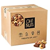 Mixed Nuts Roasted Unsalted (25 Pound Case) – Oh! Nuts For Sale