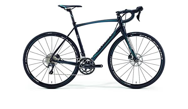 Merida Ride 500 Disc 28 pulgadas bicicleta negro/azul (2016 ...