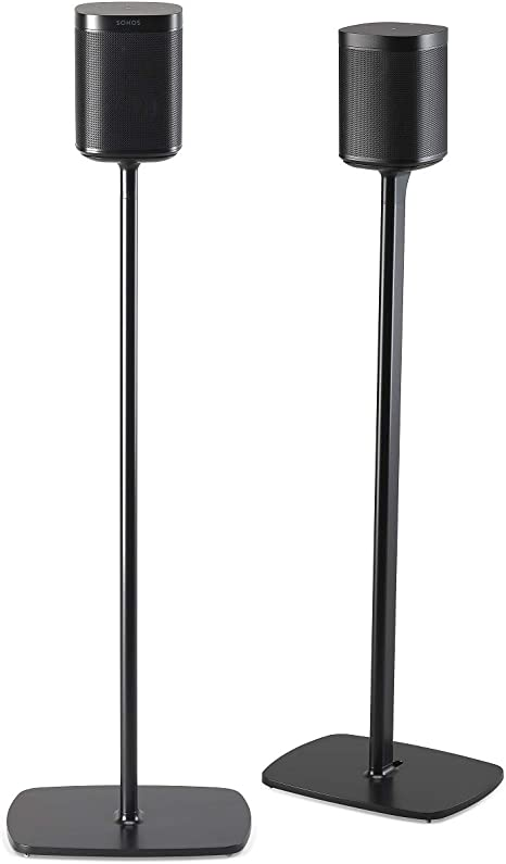 Flexson Floor Stand For Sonos One One Sl And Play 1 Pair Black Mp3 Hifi