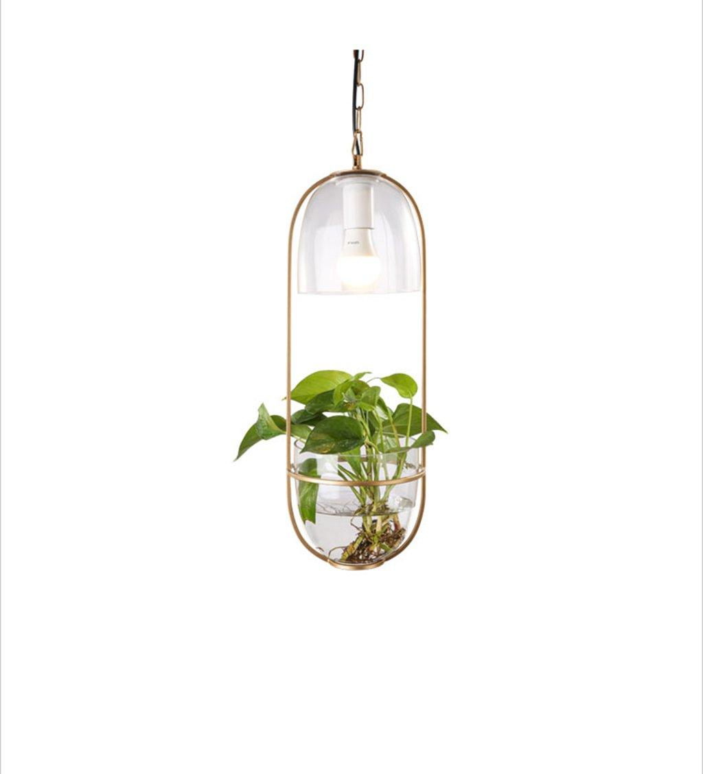 ZYANZ- Potted Plant Chandeliers Balcony Creative Restaurant Lights Single Headlights Villa Corridor Bar Chandeliers
