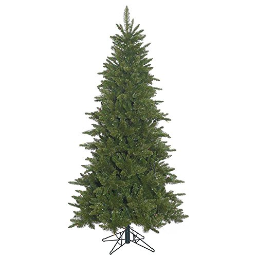 Vickerman Unlit Slim Durango Spruce Artificial Christmas ...