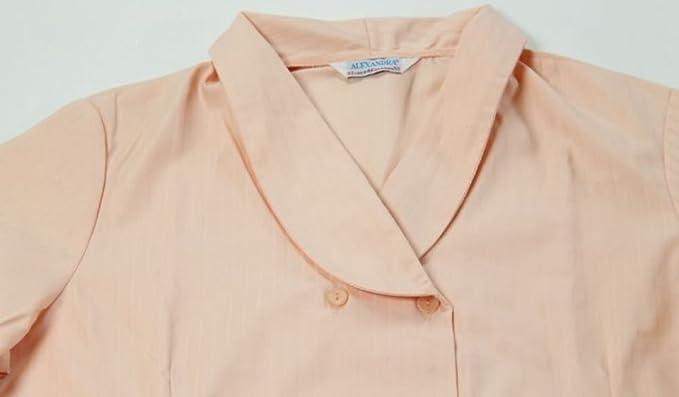Pfirsichfarbenes alexandra Kleid für Damen,: Amazon.de: Bekleidung