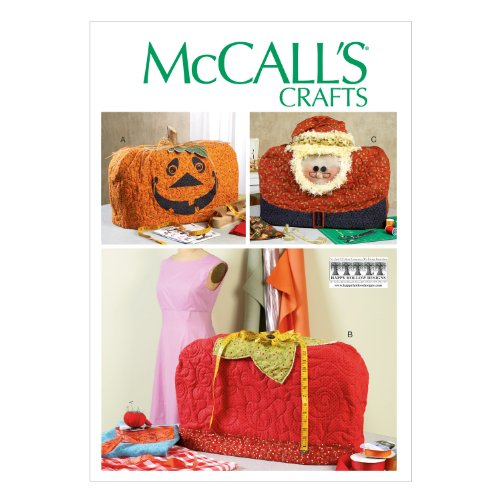 McCall Pattern Company M6857 Sewing Machine Covers Sewing Te