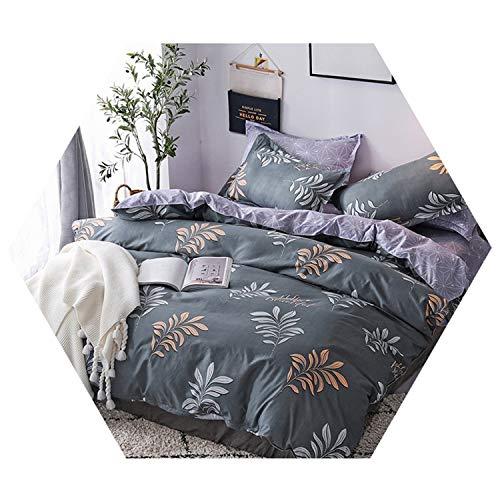 Home Textile Flamingo Cartoon Bedding Sets Duvet Cover Pillowcase Sheet Linen Twin 3/4Pcs 9 Cover200X230cm Flat Bed