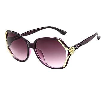 YEZIJIN - Gafas de sol para hombre y mujer, diseño retro de ...