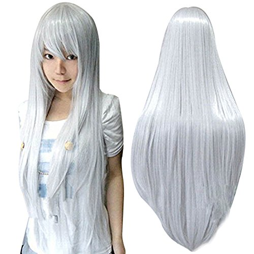 Anogol Vocaloid Straight Silver Cosplay product image