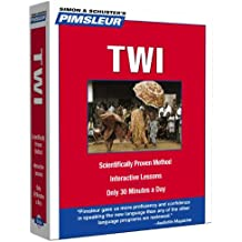 Pimsleur Twi Level 1 CD: Learn to Speak and Understand Twi with Pimsleur Language Programs (Compact)