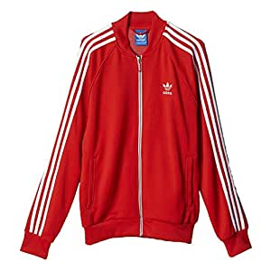Adidas Originals Superstar Men's Track jacket Red aa0156 (Size 3X)
